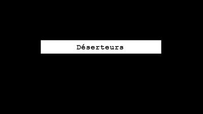 Déserteurs - Jérôme Jadot